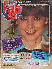 Fab 208 Magazine 30 September 1978     Child    John Travolta    Coleen Nolan