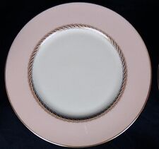 PINK/GOLD trim CARIBBEE by LENOX china SALAD PLATE(S) discontinued 1970