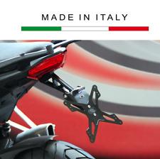 Evotech Portatarga Regolabile Ducati Multistrada 1200 con borse 2010 2011 2012