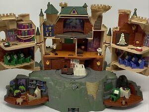 Harry Potter Polly Pocket Hogwarts Castle Playset 2001 Tested And Works