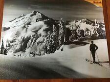 Panoramic Powder Mountain Poster