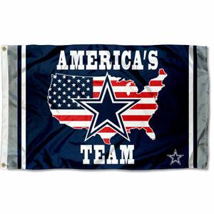 Dallas Cowboys Americas Team Flag and Banner