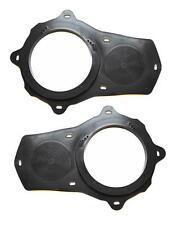"6.5 Inch Car Front Door Aftermarket Speaker Adapter Rings Brackets 6 1/2"" Pair"