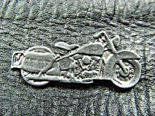 Classic Vintage harley Davidson Motorcycle Pewter Biker Jacket Pin 1161a