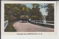 Hay Wagon Greetings from Ashuelot NH   15068