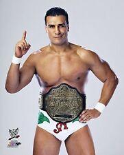 "ALBERTO DEL RIO ""2013 World Heavyweight Championship Belt"" WWE 8x10 photo"