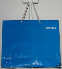 Large Blue paper bag from Panasonic