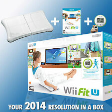 Wii Fit U w/ Wii Balance Board accessory and Fit Meter Wii U NEW