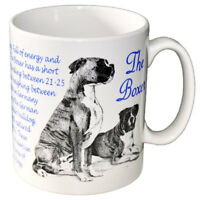 Boxer - Ceramic Coffee Mug - Dog Origins Breed
