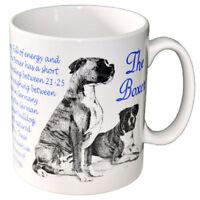 Boxer - Ceramic Coffee Mug - Dog Origins Breed