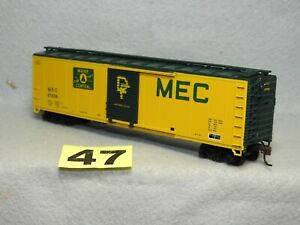 ATHEARN HO SCALE MAINE CENTRAL BOXCAR, NEW, READY TO RUN