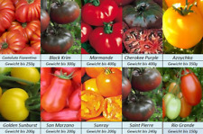 Tomatensamen,10 alte mittlere Sorten, Gewicht bis 400g, Samen Set Paket.,