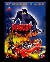 Diabolik: Track Of The Panther (DVD 3 disc set, 2007) french (REG 2 not for USA)