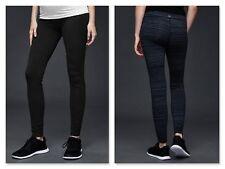 New GapFit Maternity gFast Legging X-SMALL Black