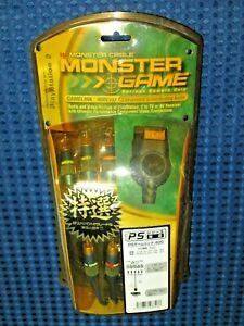 Monster Cable GameLink PGL400 CV/AA-10 Link Cable Component Video Analog Audio