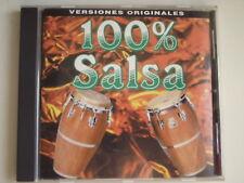 Various Artists - 100% Salsa. CD Album. (L11)