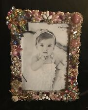 vintage Jeweled Picture Frame