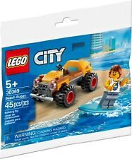 NIB PACKAGE MINT CLEAN LEGO City Beach Buggy Polybag set # 30369 NICE