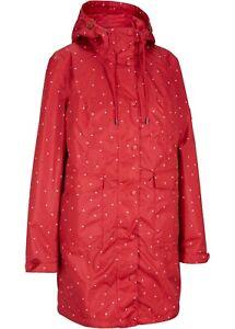 Jacke mit Steppweste 3 in 1 Jacke rot Größe 40
