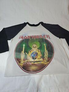 Iron Maiden Seventh Son of a Seventh Son Vintage Tour Shirt- 1988
