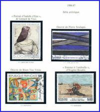 Timbres art avec 5 timbres