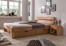 Holzbett massiv 140x200  Betten mit Bettkasten aus Massivholz | eBay