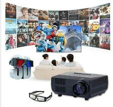 Mini 2000lm 1080P LED Projector Full HD Home Theater Cinema TV Video HDMI P