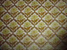 coupon tissu ameublement velours french fabric velvet  style 18e petites fleurs