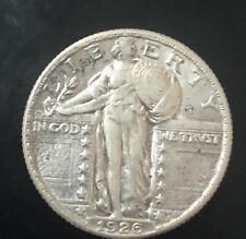 1926 Standing Liberty Silver Quarter AU  U.S. Coin Better Date