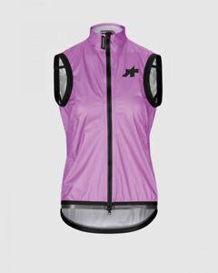 Assos Dyora RS Rain Vest Women's MEDIUM Nova Violet Road Bike Cycling Waterproof