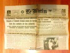 """JOURNAL DE PROPAGANDE DE LA COLLABORATION """"LE MATIN"""" N° 21829 / 28 JUIN 1944"""