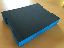 Koffereinlage aus Hart-Schaumstoff für Sortimo L-/LT-BOXX anthrazit-blau 60mm