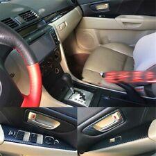 Interior Center Console Carbon Fiber Molding Sticker Decals For Mazda 3 2006-12