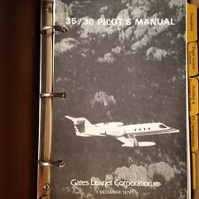 Gates LearJet 35 and 36 Pilot's Manual