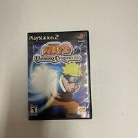 Naruto Uzumaki Chronicles PlayStation 2 Game Complete CIB PS2 Free Shipping