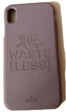 Pela Compostable ECO Friendly Case For Apple iPhone XS Max- Waste Less Purple