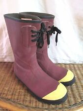 """LACROSSE 12"""" INSULATED PAC ST RUST RUBBER STEEL TOE BOOT MEN 11  QUICK SHIPPER"""