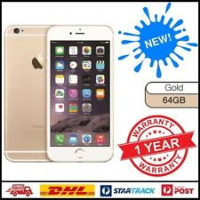 New Apple iPhone 6 64GB Gold 4G GSM WIFI 100% Factory Unlocked Mobile 12 MTH WTY