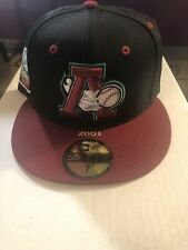Altoona Curve New Era 100th Anniversary Patch 59FIFTY Fitted Hat - NWT SIze 7