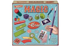 DELUXE MAGICIANS MAGIC SET 45 TRICKS KIDS CHILDREN PLAY TOYS GAME ILLUSIONS NEW