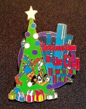 RARE 2001 DISNEY WDW CHRISTMASTIME IN THE CITY EVENT GOOFY PIN LE 1500