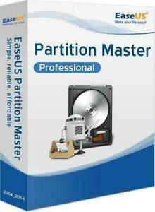 EaseUS Partition Master Professional 13.5 - Windows