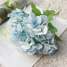 Artificial Hydrangea Floral Flower Silk Wedding Home Birthday Party Bridal Decor