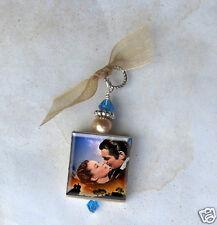 Gone With the Wind Pendant Vintage Art Charm Scarlett O Hara Rhett Charm My Dear