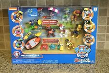 NEW Paw Patrol Lifeguard Pups Action Pack Gift Set Sea Patrol Walmart Exclusive