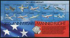 SAMOA - 1983 'BICENTENARY OF MANNED FLIGHT' Miniature Sheet MVLH SG638 [A8665]