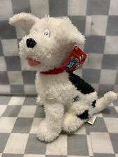"NEVIN Dr Seuss The Cat in the Hat Plush 12"" White Dog Animal NEW Kohls Cares"