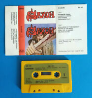 MC Musicassetta SAXON Saxon hard rock metal ITALY 1981 no dvd cd lp vhs