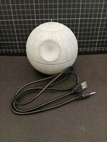 2017 Hallmark Ornament Death Star Star Wars with Power USB Cable Loose No Box