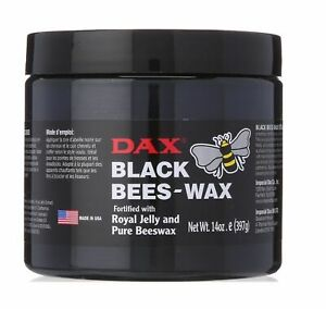 Dax Black Bees-Wax Fortified With Royal Jelly And Pure Beeswax 14oz (397g)